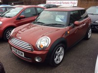 2008 MINI HATCH COOPER 1.6 COOPER 3d 118 BHP £3995.00