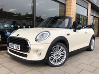 2016 MINI CONVERTIBLE 1.5 COOPER [CHILI/NAV] 2d AUTO 134 BHP £16995.00