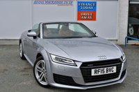 USED 2015 15 AUDI TT 2.0 Petrol TFSI QUATTRO SPORT 2d 4x4 Convertible AUTO with 227 BHP Performance and Stunning High Spec with over 8000 pounds of Factory Fitted Options such as Open Top Driving Package Technology Package Comfort and Sound Package Extended Leather Package PERFECT FOR THE SUMMER AHEAD
