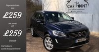 USED 2016 65 VOLVO XC60 2.0 D4 SE LUX NAV 5d 188 BHP (65 plate)