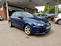 USED 2015 15 AUDI A1 1.0 TFSI SPORT 3d 93 BHP SAT NAV,ONE OWNER,CRUISE,PARK AID,DAB RADIO,BLUETOOTH