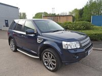 USED 2012 62 LAND ROVER FREELANDER 2.2 SD4 HSE 5d AUTO 190 BHP
