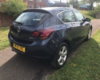 USED 2011 61 VAUXHALL ASTRA 2.0 SRI CDTI S/S 5d 163 BHP VERY WELL LOOKED AFTER: