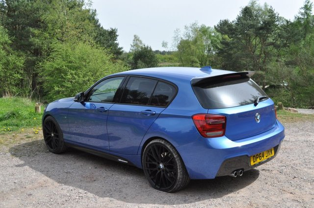 USED 2015 BMW 1 SERIES 2.0 125D M SPORT 5d AUTO 215 BHP 20 M PERFORMANCE Alloys KIT