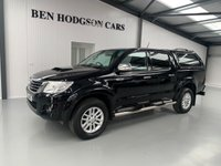 USED 2016 16 TOYOTA HI-LUX 3.0 INVINCIBLE 4X4 D-4D DCB 1d 169 BHP NO VAT, 1 Owner from new, Great Spec!