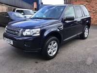 2014 LAND ROVER FREELANDER 2.2 TD4 GS 5d 150 BHP £14995.00