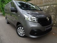 2015 RENAULT TRAFIC 1.6 SL27 BUSINESS PLUS DCI S/R P/V 1d 115 BHP SWB PANEL VAN £9995.00