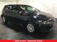 USED 2015 65 VOLKSWAGEN GOLF 1.6 S TDI BLUEMOTION TECHNOLOGY 5d 108 BHP +ONE OWNER +FREE TAX +FSH.