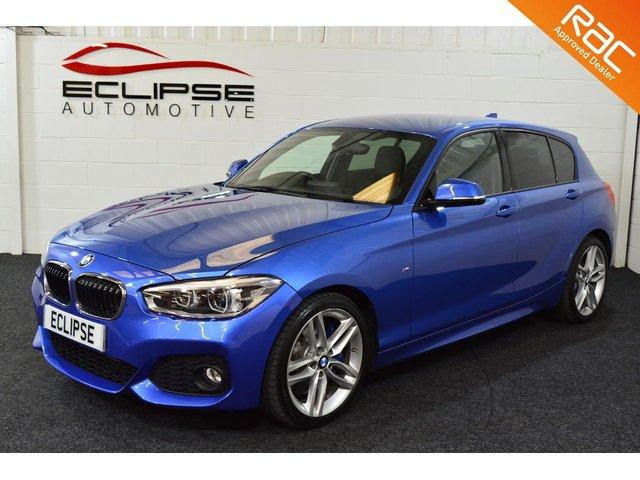 2015 15 BMW 1 SERIES 1.6 120I M SPORT 5d AUTO 167 BHP