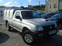 2005 MITSUBISHI L200 2.5 4WORK GL LWB 4WD 1d 114 BHP £3995+VAT £3995.00