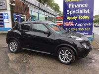 USED 2017 17 NISSAN JUKE 1.5 TEKNA DCI 5d 110 BHP, only 22000 miles ***APPROVED DEALER FOR CAR FINANCE247 AND ZUTO  ***