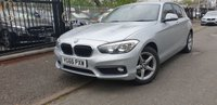USED 2016 66 BMW 1 SERIES 1.5 116D SE BUSINESS AUTO 5d 114BHP NEWSHAPE+LEATHER+CLIMATE+CD+