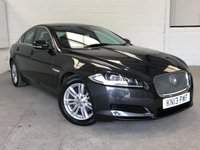 USED 2013 13 JAGUAR XF 3.0 D V6 LUXURY 4d AUTO 240 BHP