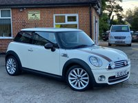 USED 2010 10 MINI HATCH COOPER 1.6 COOPER D MAYFAIR 3d 109 BHP FULL SERVICE HISTORY!