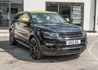 2013 LAND ROVER RANGE ROVER EVOQUE 2.2 SD4 SPECIAL EDITION 3d 190 BHP HARD BACK SEATS £20990.00