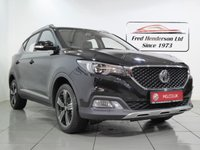 USED 2019 19 MG MG ZS 1.0 EXCLUSIVE 5d AUTO 110 BHP 19 plate MGZS Automatic in Black Pearl metallic. 14 miles, bluetooth, sat nav, reversing camera, leather seats, cruise control, 7 year warranty, great finance deals