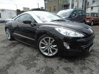 USED 2011 11 PEUGEOT RCZ 1.6 THP GT 2d 200 BHP TWO OWNER CAR GREAT HISTORY