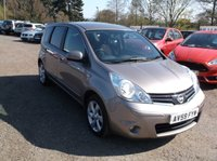 USED 2009 59 NISSAN NOTE 1.5 N-TEC DCI 5d 86 BHP ****Great Value family car with excellent service history, drives superbly****