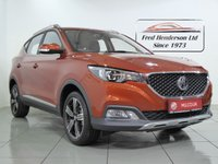 USED 2019 19 MG MG ZS 1.0 EXCLUSIVE 5d AUTO 110 BHP 19 plate MGZS Automatic in Spiced Orange metallic. 14 miles, bluetooth, sat nav, reversing camera, leather seats, cruise control, 7 year warranty, great finance deals