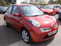 USED 2009 59 NISSAN MICRA 1.2 N-TEC 5d 80 BHP ***Economical -Low miles - LOW tax / Insurance -  FSH - SatNav ***