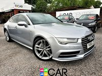 USED 2016 16 AUDI A7 3.0 SPORTBACK TDI ULTRA S LINE 5d AUTO 215 BHP 1 OWNER FROM NEW + FSH
