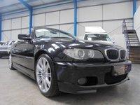 2006 BMW 3 SERIES 2.5 325CI M SPORT 2d AUTO 190 BHP £4495.00