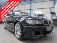 "USED 2006 06 BMW 3 SERIES 2.5 325CI M SPORT 2d AUTO 190 BHP Full Service History, Heated Leather Seats, Rear Parking Sensors, Automatic Air Conditioning, Cruise Control, Electric Front Seat Adjustment with Driver Memory, Tyre Pressure Sensors, Electric Windows and Mirrors, Remote Central Locking - 2 Keys, 19"" Alloys"