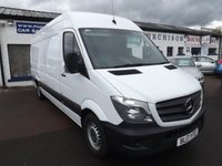 2017 MERCEDES-BENZ SPRINTER 2.1 314CDI 1d 140 BHP £19850.00
