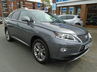 USED 2013 63 LEXUS RX 3.5 450H LUXURY 5d AUTO 295 BHP ULEZ EXEMPT FULL LEATHER, SAT NAV