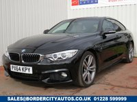 USED 2014 64 BMW 4 SERIES 2.0 420D M SPORT GRAN COUPE 4d AUTO 181 BHP FULL SERVICE HISTORY