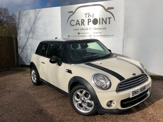 2011 61 MINI HATCH COOPER 1.6 COOPER D 3d 112 BHP