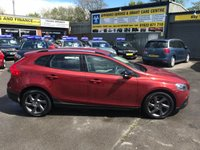 USED 2014 64 VOLVO V40 1.6 D2 CROSS COUNTRY LUX 5d AUTO 113 BHP IN METALLIC RED WITH A FULL SERVICE HISTORY APPROVED CARS AND FINANCE ARE PLEASED TO OFFER THIS VOLVO V40 1.6 D2 CROSS COUNTRY LUX 5 DOOR AUTOMATIC 113 BHP IN METALLIC RED WITH 39,500 MILES AND A FULL SERVICE HISTORY SERVICED AT 1K,5K,10K,17K AND 39K.THE VEHICLE HAS A GOOD SPEC SUCH AS LEATHER SEATS, ALLOY WHEELS, BLUETOOTH, AIR CONDITIONING AND MUCH MORE. THIS IS A PERFECT FAMILY CAR VERY EASY TO DRIVE DUE TO THE AUTOMATIC GEARBOX, AND VERY CHEAP TO DRIVE LOW INSURANCE AND ROAD TAX.