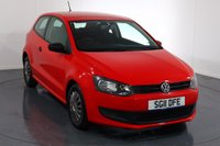 USED 2011 11 VOLKSWAGEN POLO 1.2 S 3d 60 BHP 2 OWNERS From New with SERVICE HISTORY