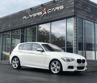USED 2015 BMW 1 SERIES 2.0 125D M SPORT 5d 215 BHP Parking Sensors. Cruise Control. Auto lights.