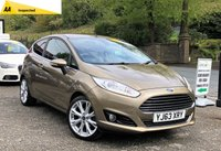 2013 FORD FIESTA 1.0 TITANIUM X 3d 124 BHP £SOLD