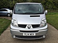 USED 2014 14 RENAULT TRAFIC 2.0 LL29 SPORT DCI S/R P/V 1d 115 BHP LONG WHEEL BASE, SPORT MODEL