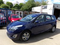 USED 2011 61 RENAULT SCENIC 1.5 EXPRESSION DCI 5d 110 BHP NEW MOT, SERVICE & WARRANTY