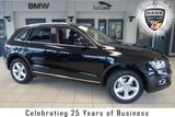 USED 2015 65 AUDI Q5 2.0 TDI QUATTRO SE 5d 148 BHP FINISHED IN STUNNING BLACK WITH HALF LEATHER SEATS + 1 OWNER WITH AN IMPECCABLE FULL SERVICE HISTORY + BLUETOOTH + DAB RADIO + TOWBAR PREPARATION + FOUR WHEEL DRIVE + CRUISE CONTROL + CLIMATE CONTROLLED AIRCONDITIONING + PARKING SENSORS....