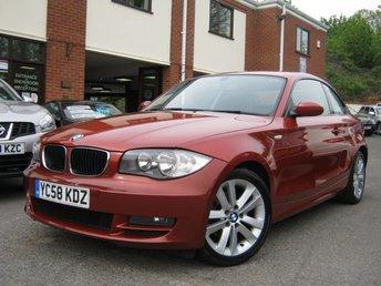 2008 BMW 1 SERIES 2.0 120D SE 2d 175 BHP £SOLD