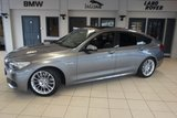 USED 2014 14 BMW 5 SERIES GRAN TURISMO 2.0 520D M SPORT GRAN TURISMO 5d AUTO 181 BHP FINISHED IN STUNNING SPACE GREY WITH FULL BLACK LEATHER SEATS + FULL BMW SERVICE HISTORY + SATELLITE NAVIGATION + PANORAMIC ROOF + 18 INCH ALLOYS + XENON HEADLIGHTS + ELECTRIC TAILGATE + HEATED FRONT SEATS + DAB RADIO + BLUETOOTH + PARKING SENSORS + AIR CONDITIONING + LED DAYTIME LIGHTS
