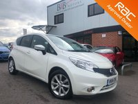 USED 2014 14 NISSAN NOTE 1.5 TEKNA DCI PRIVACY GLASS | START/STOP | BLIND STOP MONITOR | LANE DEPARTURE | ADVANCED OBJECT DETECTION |  | KEYLESS | CRUISE CONTROL | BLUETOOTH | SAT NAV | REVERSING CAMERA |