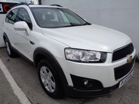 USED 2013 13 CHEVROLET CAPTIVA 2.2 LT VCDI 5d 184 BHP £155 A MONTH WITH NO DEPOSIT ALLOYS 7 SEATS CLIMATE HALF LEATHER PARKING SENSORS
