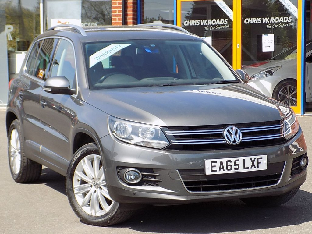 USED 2015 65 VOLKSWAGEN TIGUAN 2.0 TDi BlueMotion Tech Match Edition 5dr ** Discover + Park Assist **