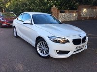 2015 BMW 2 SERIES 1.5 218I SE 2d 134 BHP PLEASE CALL TO VIEW £11750.00