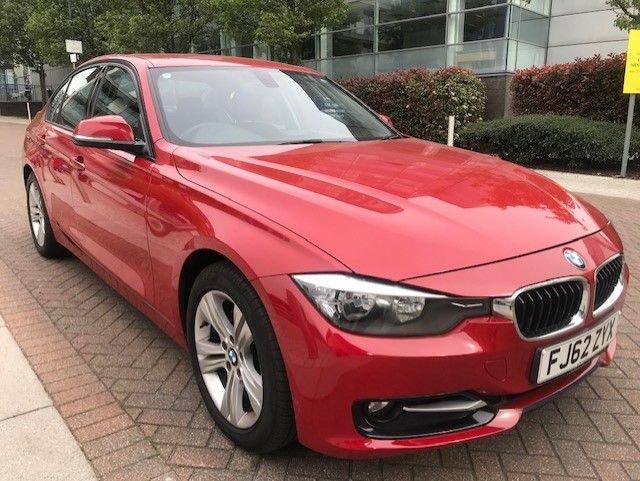 2012 62 BMW 3 SERIES 2.0 320D SPORT 4d AUTO 184 BHP
