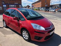 USED 2008 08 CITROEN C4 PICASSO 1.8 5 VTR PLUS I 16V 5d 124 BHP *** 12 MONTHS WARRANTY ***