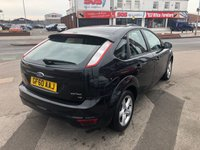 USED 2010 60 FORD FOCUS 1.6 ZETEC 5d 100 BHP *** 12 MONTHS WARRANTY ***