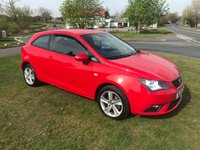 USED 2014 14 SEAT IBIZA 1.4 TOCA SPORT 3 DOORS 2 OWNERS FSH 55000 MILES
