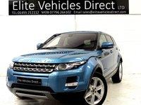 2012 LAND ROVER RANGE ROVER EVOQUE 2.2 SD4 PURE TECH 5d 190 BHP £SOLD