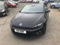 USED 2011 11 VOLKSWAGEN SCIROCCO 2.0 GT TDI 2d 170 BHP AUTOMATIC IN BLACK FULL SERVICE HISTORY 65K MILES IN IMMACULATE CONDITION APPROVED CARS AND FINANCE ARE PLEASED TO OFFER OUR VOLKSWAGEN SCIROCCO 2.0 GT TDI AUTOMATIC 2 DOORS 170 BHP IN BLACK AND IN IMMACULATE CONDITION. HUGE SPEC INCLUDING,ABS,POWER STEERING,CRUISE CONTROL,DSG GEARBOX,ALLOY WHEELS AND A FULL SERVICE HISTORY AT 9K,18K,38K,48K,52K,57K MILES. PLEASE CALL 01622-871-555 TODAY TO BOOK A TEST DRIVE AS THIS CAR WILL NOT BE HERE LONG.